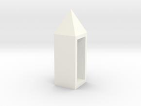 盒子 in White Strong & Flexible Polished