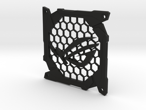 Fan grill (ROG) in Black Natural Versatile Plastic