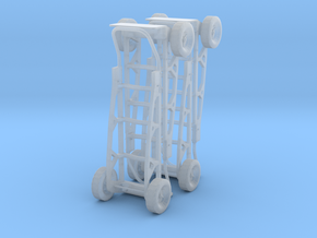 1/35 scale handcart / dolly in Smooth Fine Detail Plastic