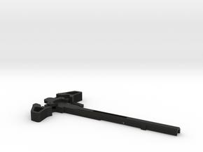 Charging Handle for Ares Amoeba Brand in Black Natural Versatile Plastic
