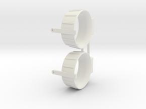SHOALBUSTER 2609 nozzle (2pcs) in White Natural Versatile Plastic