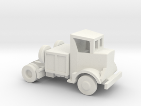 1/144 Scale Autocar Tractor U-8144T in White Strong & Flexible