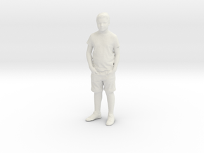 Printle C Kid 022 - 1/24 - wob in White Natural Versatile Plastic