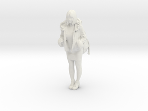 Printle C Femme 322 - 1/24 - wob in White Natural Versatile Plastic