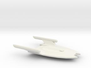 Serpent-Class Escort in White Natural Versatile Plastic
