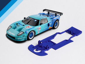1/32 Ninco Ford GT Chassis for Slot.it AW pod in White Natural Versatile Plastic