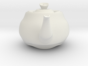 Nizaro T Pot Design10 in White Strong & Flexible: Small