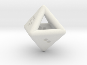 Unusual D8 (not twisted) in White Strong & Flexible