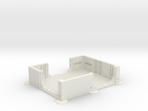 Imperial Assault tile 07A in White Natural Versatile Plastic