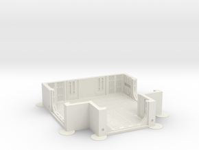 Imperial Assault tile 25A in White Natural Versatile Plastic