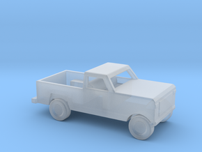 1/200 Scale Dodge Pickup M880 in Smooth Fine Detail Plastic