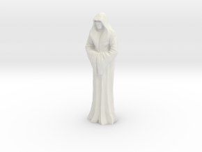 Imperial Saint  -40mm tall in White Strong & Flexible