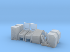 HO scale Arcade Machines Pack 2 in Frosted Ultra Detail
