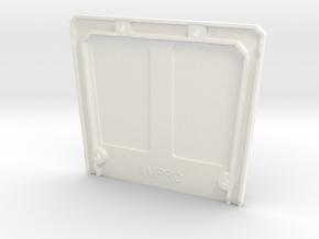 046006-04 FAV & Wild One Roof in White Processed Versatile Plastic