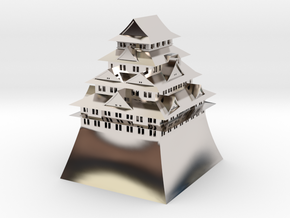 Nagoya Castle in Platinum
