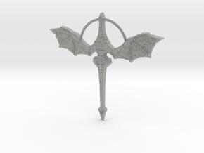 Dragon Collar in Metallic Plastic