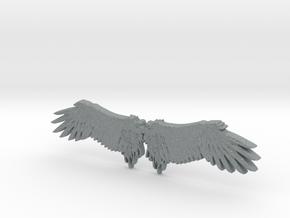 Angel's wing in Polished Metallic Plastic