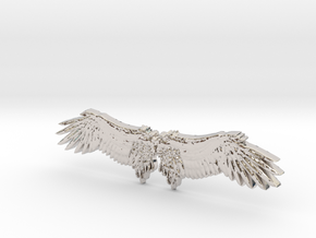 Angel's wing in Platinum
