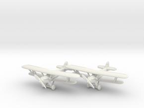 Hawker Demon (RAF version) 1/285 6mm in White Natural Versatile Plastic