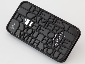 """Best Camera…"" iphone 4s case in Black Natural Versatile Plastic"