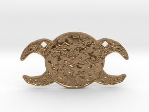Triple Goddess by Gabrielle in Natural Brass