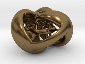 Tetrahedron Hopf preimage (corners) in Natural Bronze