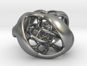 Cube Hopf preimage (corners) in Natural Silver