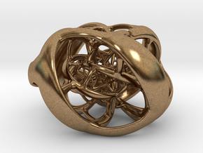 Cube Hopf preimage (corners) in Natural Brass