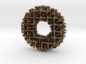 Möbius lattice in Natural Bronze: Small