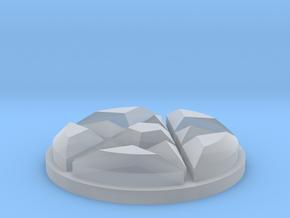 Dresden Jewel in Smooth Fine Detail Plastic