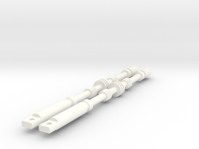 ANH Rods in White Processed Versatile Plastic