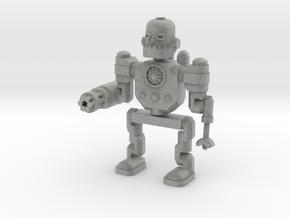 Robot in Metallic Plastic