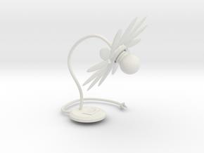 105102342:Flowers of modeling lights in White Natural Versatile Plastic