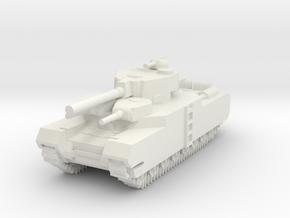 O-I Japanese Ultra Heavy Tank in White Natural Versatile Plastic