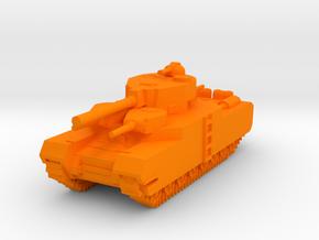 O-I Japanese Ultra Heavy Tank in Orange Strong & Flexible Polished
