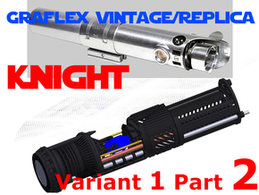 Graflex Knight Chassis - Variant 1 - Part 2 in White Strong & Flexible