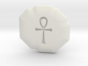 Spirituality Runestone in White Strong & Flexible