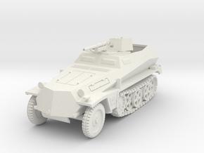 PV158A Sdkfz 250/10 3.7cm Pak (28mm) in White Natural Versatile Plastic