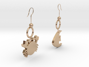 Earrings in 14k Rose Gold
