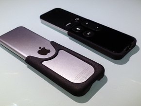 Apple TV, Siri Remote, Slim Skin in Black Natural Versatile Plastic