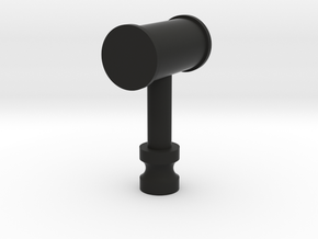Small hammer in Black Natural Versatile Plastic