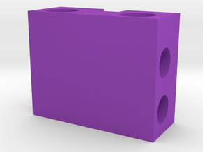 CPU cold head in Purple Processed Versatile Plastic