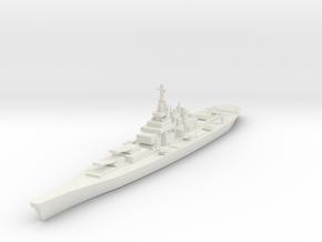 USS IOWA in White Strong & Flexible