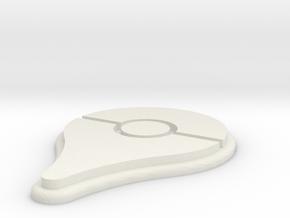 Pokemon Go Pin Mini-Magnet in White Natural Versatile Plastic