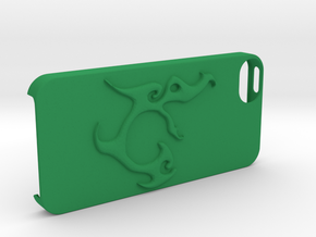 Iphone 5 Case Segunda Logo in Green Processed Versatile Plastic