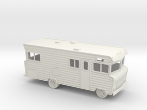 HO-Scale (1/87) Winnebago D-22 Indian in White Natural Versatile Plastic