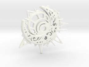 The Eclipse in White Processed Versatile Plastic