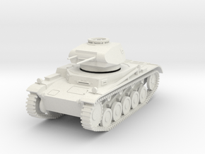 PV103A Pzkw II ausf C (28mm) in White Strong & Flexible