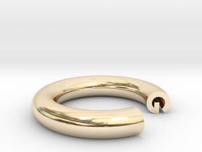 G Ring in 14K Yellow Gold: 4 / 46.5