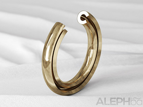C Ring in Natural Bronze: 6 / 51.5
